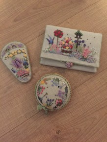 My three 'In an English Country Garden' Items