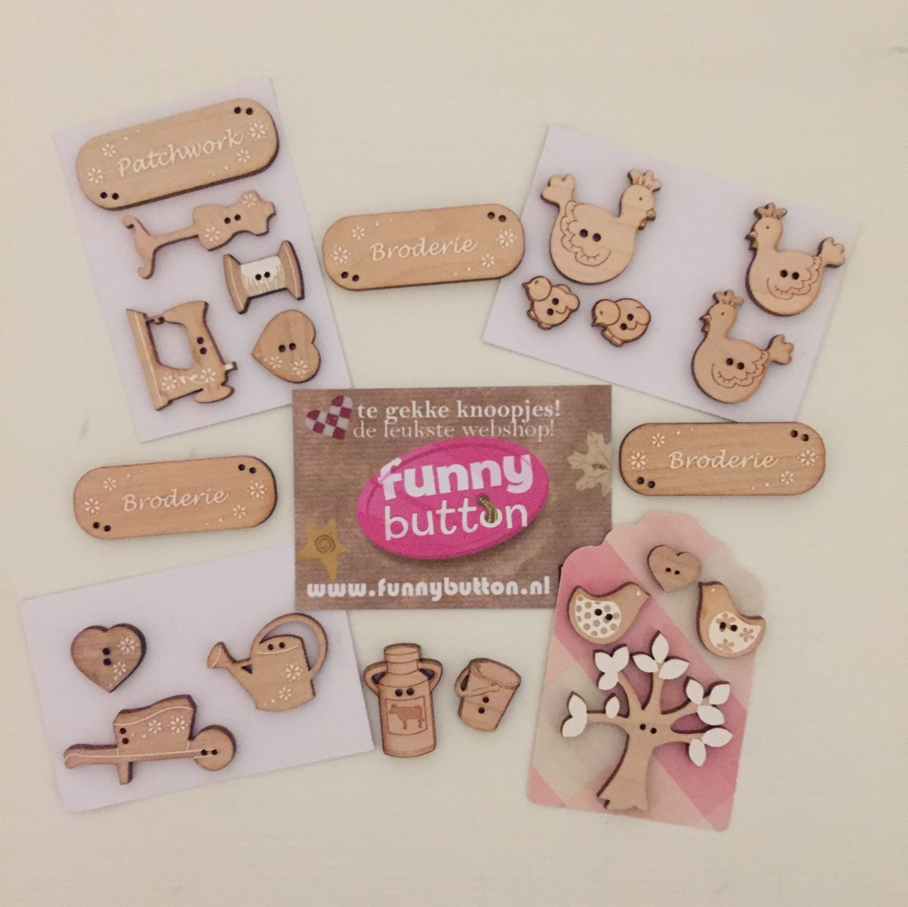 Buttons from Funny Buttons