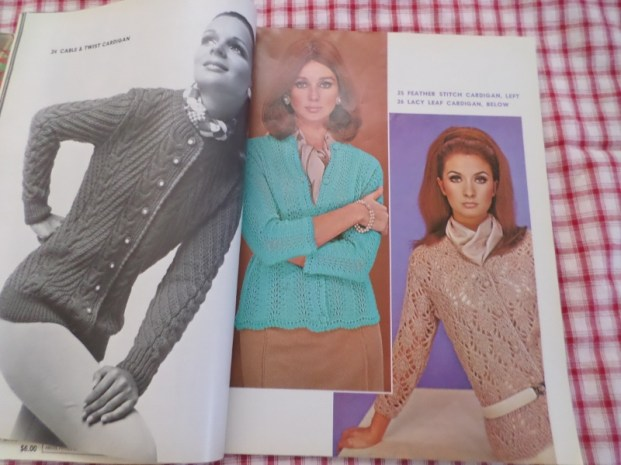 1970s Knitting Patterns from 101 Sweaters magazine