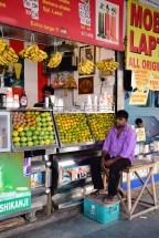 levné indické jídlo, trhy, Delhi