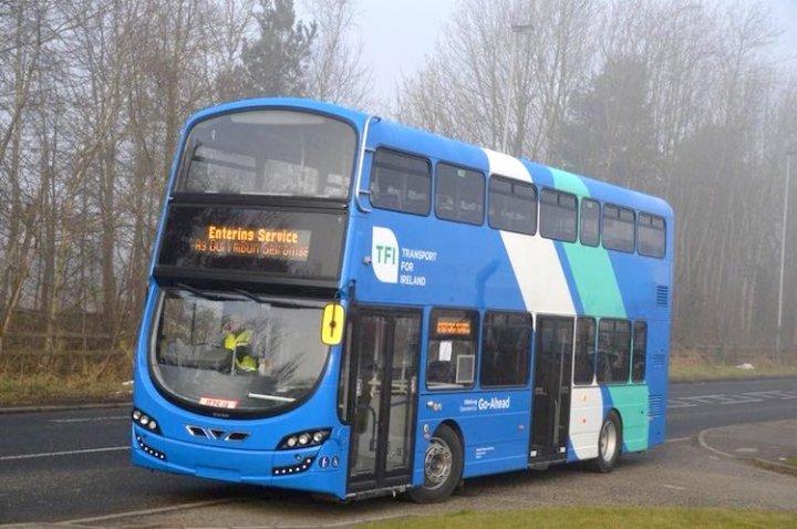 【交通】新的巴士公司 Go-Ahead Ireland – 我是 Stiva teo