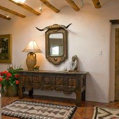 Rustic Elegant Living Room Designs Recessed Lighting Classic Santa Fe Interior Design - Stivers & Smith Interiors