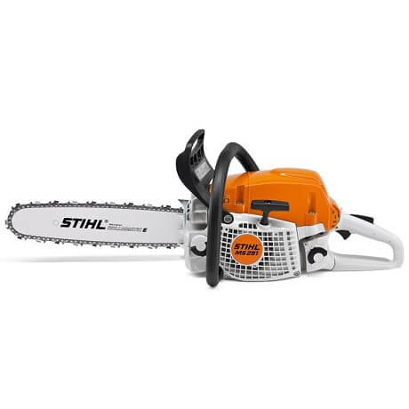 STIHL MOTOSSERRA MS 291 - Lado do arrancador