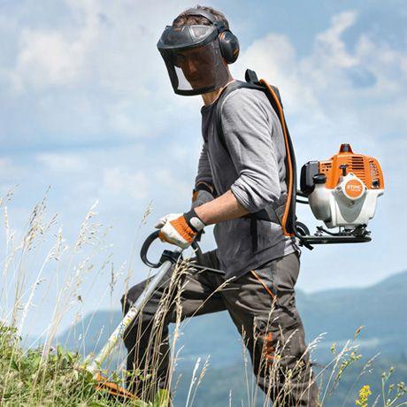 Motorrocadora-Mochila-STIHL-FR-235-Trabalho