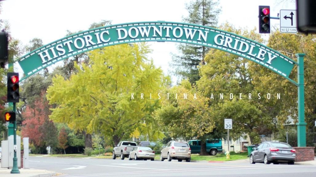 Hazel Street, Historic Downtown Gridley, California