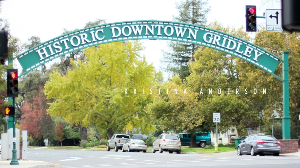 Hazel Street, Historic Downtown Gridley, California