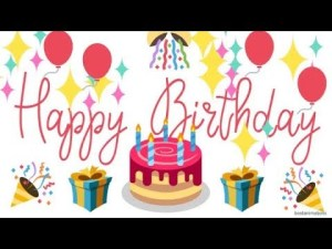 Read more about the article Happy Birthday!!!(video)