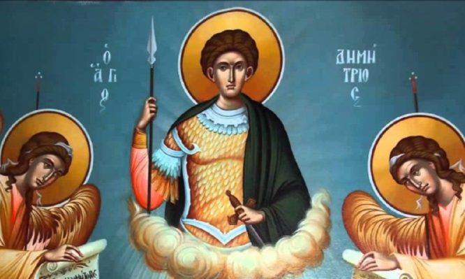 Read more about the article Άγιος Δημήτριος ο Μυροβλήτης: Ο βίος και το μαρτύριό του