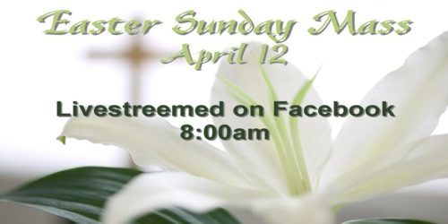 Easter Sunday Mass 2020