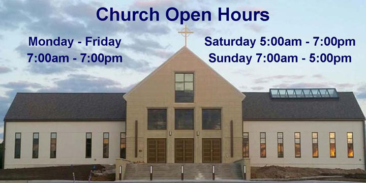 Church Open Hours