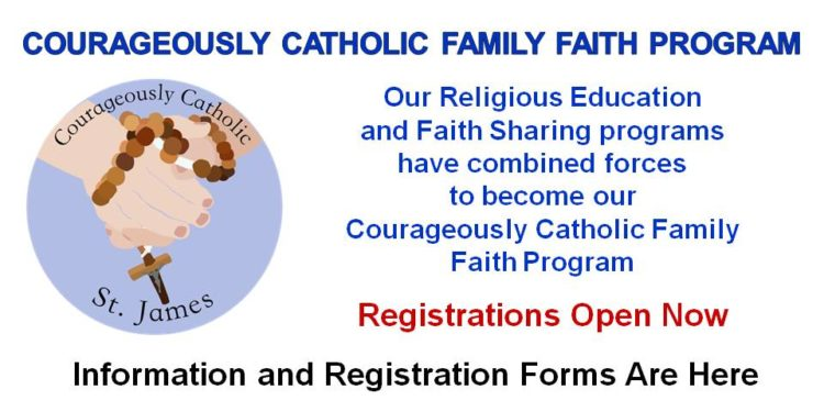COURAGEOUSLY CATHOLIC FAMILY FAITH PROGRAM