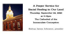 Prayer Service For Racial Healing