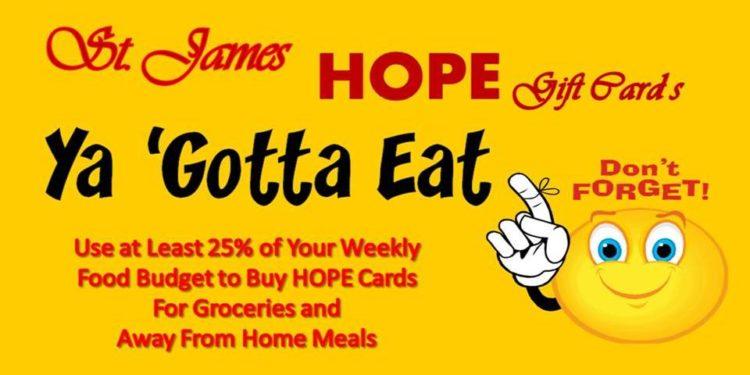 HOPE Gift Card Challenge