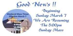 New Mass Time