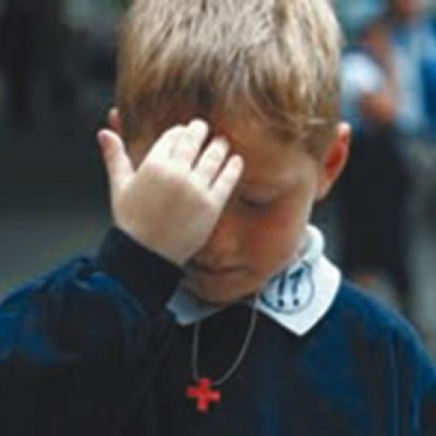 Image result for making the sign of the cross