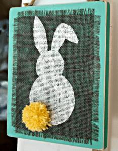 March Ladies Craft Night – Burlap Bunny Plaques