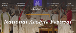 Acolyte Festival National Cathedral 2016