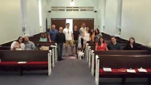 Spring 2017 Baptismal Class