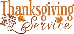 thanksgiving service at st james church