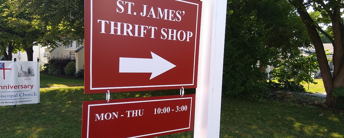 Thrift Shop New Summer Hours