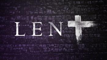 Lenten Programme