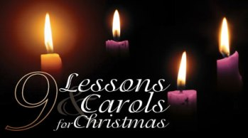 Joint Traditional Service of Nine Lessons and Carols 6:30pm Sunday 17th December St Thomas' Church Musbury