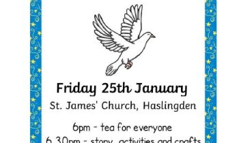 Friday Church 25th January 6.30pm