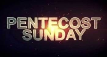 Pentecost Sunday Worship at Home – Evensong 4:30pm 31st May 2020