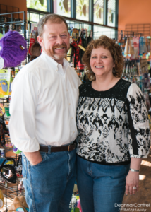 Matt and Celest Richards, owners and operators of Nature's Pet Market in St. Johns.