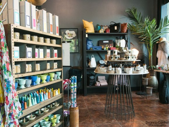 Metamorphic candles and scents in the St. Johns shop