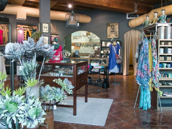 Flowers and decor at Metamorphic