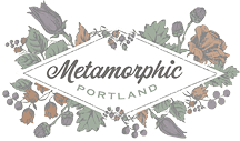 Metamorphic logo
