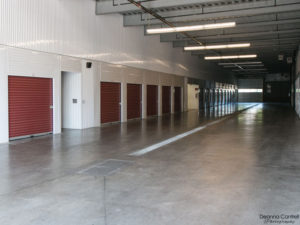 Interior view of St. Johns Storage