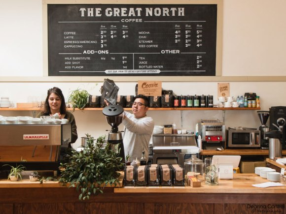 The Great North coffee bar