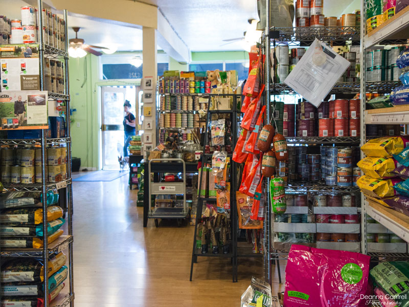 Tre Bone store from the inside