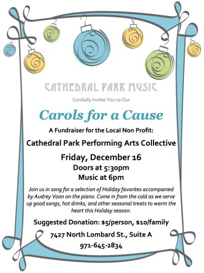 Carols for a Cause