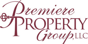 Premiere Property Group LLC logo in red