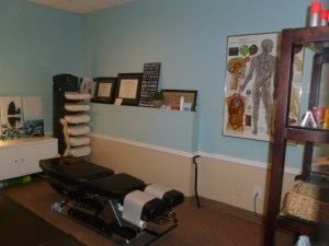 Stumptown Chiropractic treatment room