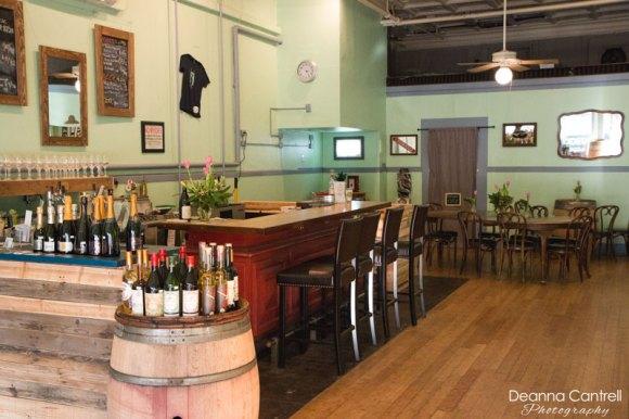 45th Parallel Wines interior