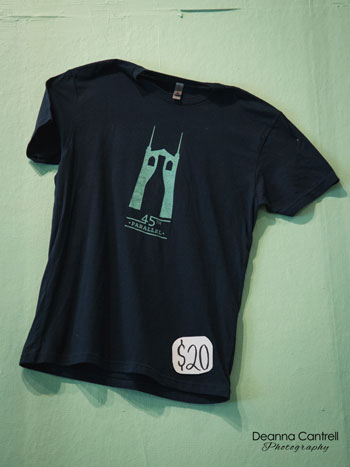 45 Parallel Wines t-shirt