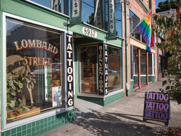 Lombard Street Tattoo exterior
