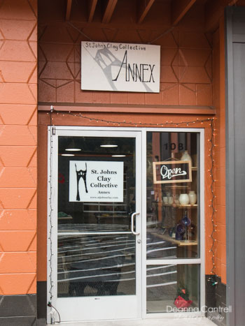 Entrance to the St. Johns Clay Collective