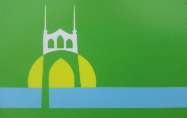 St. Johns flag by Alshiref Design