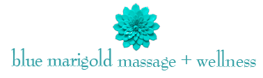 Blue Marigold Massage & Wellness logo