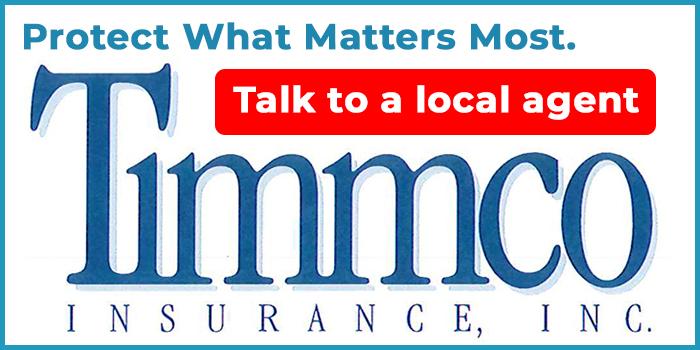 Timmco Insurance advertisement