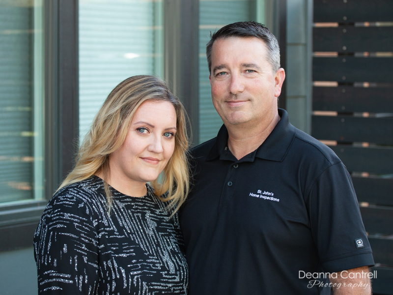 St. Johns Home Inspections, owners Sky and Hutchins
