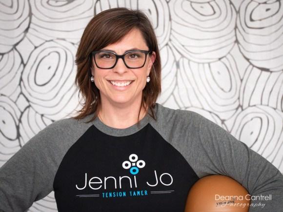 Jenni Jo, owner of Tension Tamer