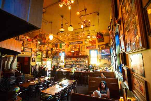 McMenamins St. Johns Pub indoor restaurant