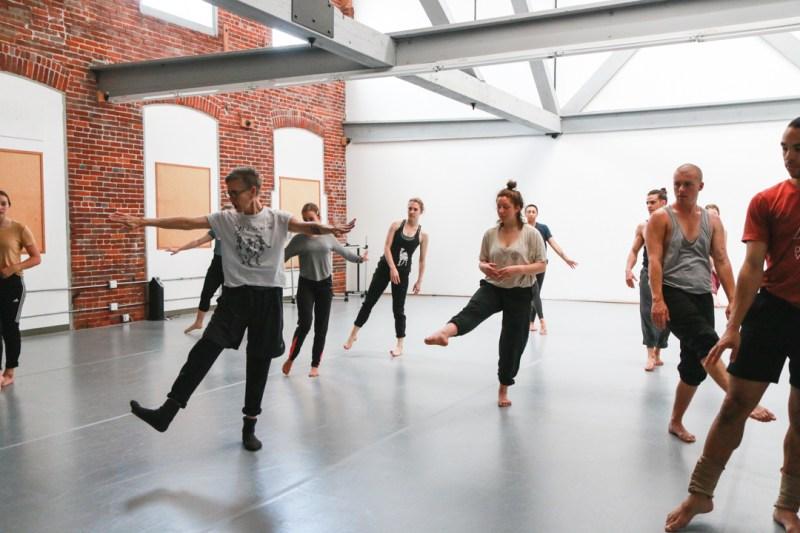 Dance workshopt at Floor Center for Dance.
