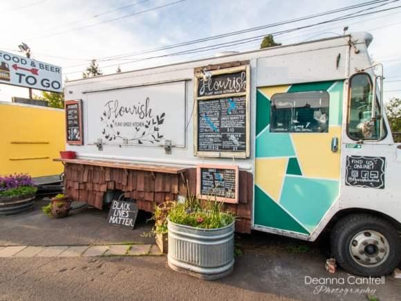 Flourish-Plant-based-kitchen-vegan-cart-food-truck